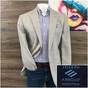 Joseph Abboud Sport Coat Blazer Wool Cotton Silk